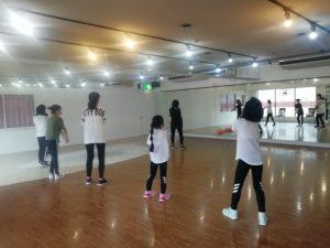 小学生K-POP女子クラス入門が新クラススタート